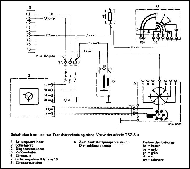 Sähkökaavio Piirrosmerkit